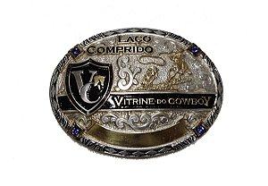 Fivela Laço Comprido Vitrine do Cowboy VCF001