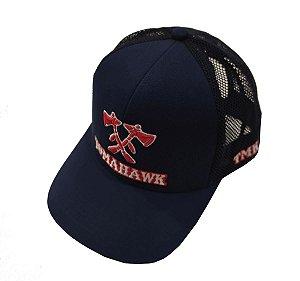 Boné Tomahawk Azul Marinho TMK0025
