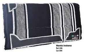 Manta Indiana Stalony Preto 46004