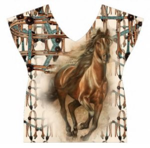 Camiseta Minuty Com Aviamento Horse Brown 720