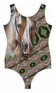 Body Minuty Com Brilho Ombro Horse 750