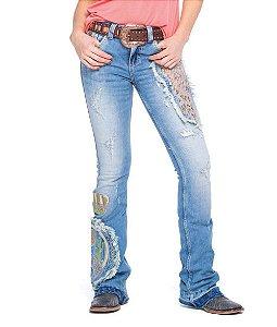 Calça Jeans Zenz Western Montana Zw0320007