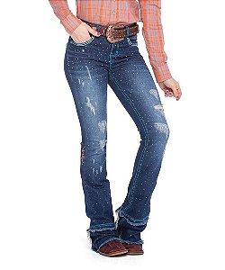 Calça Jeans Zenz Western Dark Blue Zw0320011