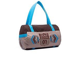 Bolsa Zenz Western Turquoise ZW0320055