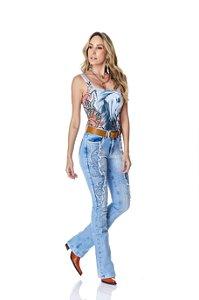 Calça Jeans Minuty Feminina Cós Medio 20714