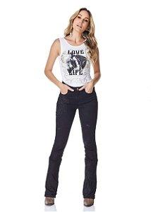 Calça Jeans Minuty Feminina Cós Medio 20733