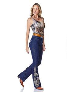 Calça Jeans Minuty Feminina Cós Medio 20662