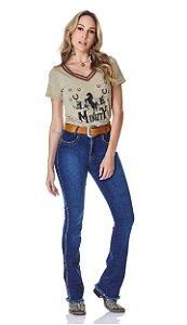 Calça Jeans Minuty Feminina Cós Médio 20749