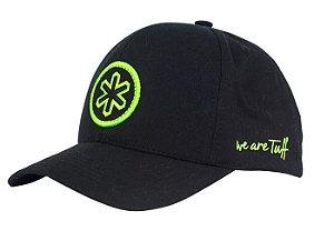 Boné Tuff Monster Classic Preto Logo Verde CAP1307