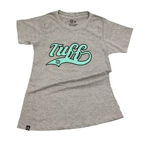 Camiseta Tuff Fem Mescla Silk Turquesa TS2509