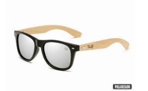 Óculos Tuff Lente Polarizado Prata Sunglasses