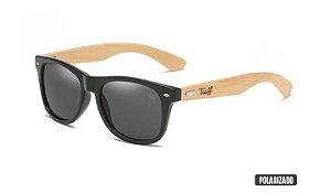 Óculos Tuff Lente Polarizado Preta Sunglasses