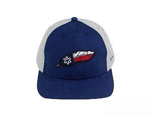 Boné Tuff Navy Texas Azul Marinho Tela Cinza