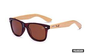 Óculos Tuff Lente Polarizado Marrom Sunglasses