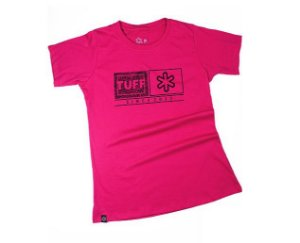 Camiseta Tuff Fem Pink Silk Preto