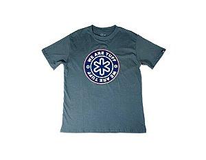 Camiseta Tuff Masculina Chumbo Silk Logo Tuff