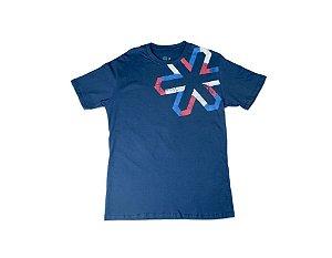 Camiseta Tuff Masculina Azul Marinho Silk Preto