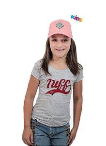 Camiseta Tuff Infantil Mescla Silk Bordo