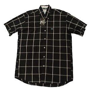 Camisa Tomahawk Masc. M/C Preta TMKMMC2108
