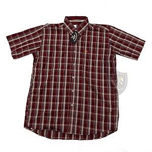 Camisa Tomahawk Masc. M/C Vinho TMKMMC2117