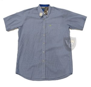 Camisa Tomahawk Masc. M/C Azul TMKMMC2120