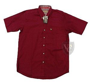 Camisa Tomahawk Masc. M/C Bordo TMKMMC2138