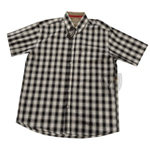 Camisa Tomahawk Masc. M/C Preto TMKMMC2143