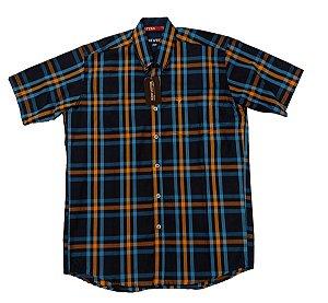 Camisa Bucks Masc. M/C Azul BWMMC2101