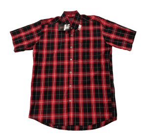 Camisa Bucks Masc. M/C Black Red BWMMC2104