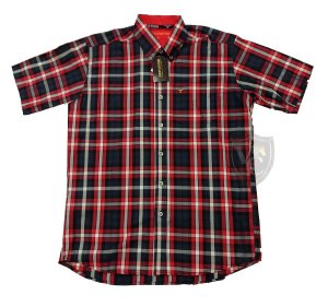 Camisa Bucks Masc. M/C Blue Red BWMMC2106