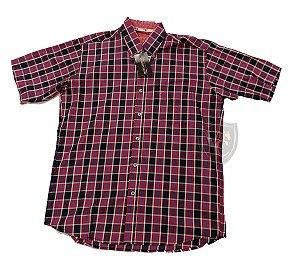 Camisa Bucks Masc. M/C Boysenberry BWMMC2112