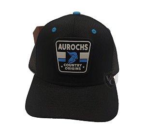 Boné Aurochs Preto Logotipo Origins 210012