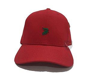 Boné Aurochs Vermelho Logotipo Verde 210015