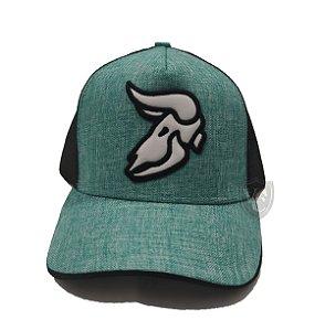 Boné Aurochs Verde Logotipo Branco 210019