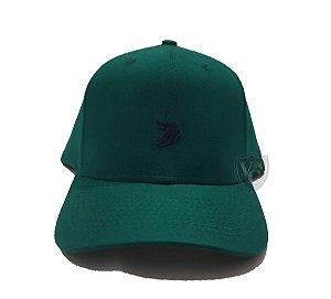 Boné Aurochs Verde Logotipo Preto 210020