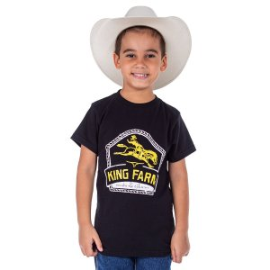 Camiseta King Farm Infantil KFIGCK89
