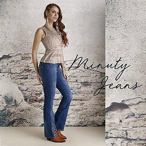 Calça Jeans Minuty Feminina Flare 201836