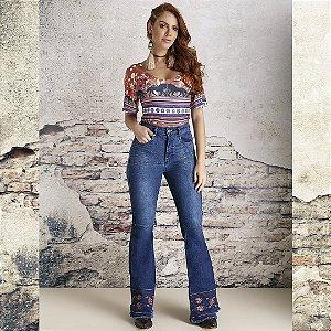 Calça Jeans Minuty Feminina Flare 201847