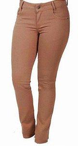 Calça Jeans Minuty Feminina Marrom 95027