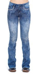 Calça Jeans Zenz Western Mid Night ZW0320001