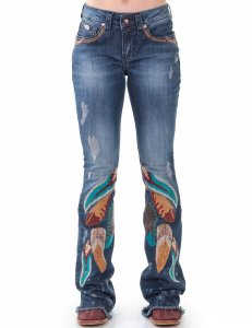 Calça Jeans Zenz Western Folk ZW0120055