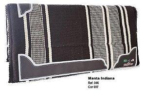 Manta Indiana Stalony Marrom 46007