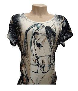 Camiseta Minuty Feminina Horse Halter MF2020DHH