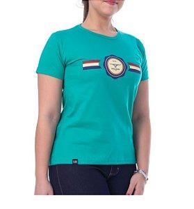 Camiseta King Farm Feminina Verde Agua GCF14