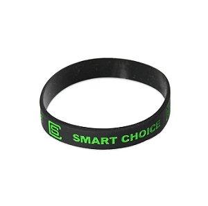 Pulseira Silicone Smart Choice Preta PUL3698