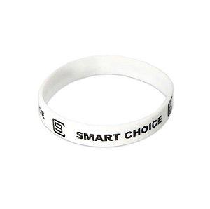 Pulseira Silicone Smart Choice Branca PUL3684