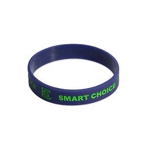 Pulseira Silicone Smart Choice Roxa PUL3687