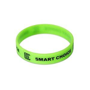 Pulseira Silicone Smart Choice Verde Neon PUL3689