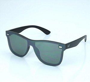 Óculos Tuff Quadrado Lente Verde Aste Fosca SUN3810