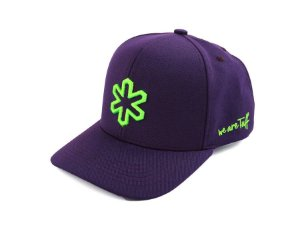 Boné Tuff Vick Roxo Logo Verde Cap3649